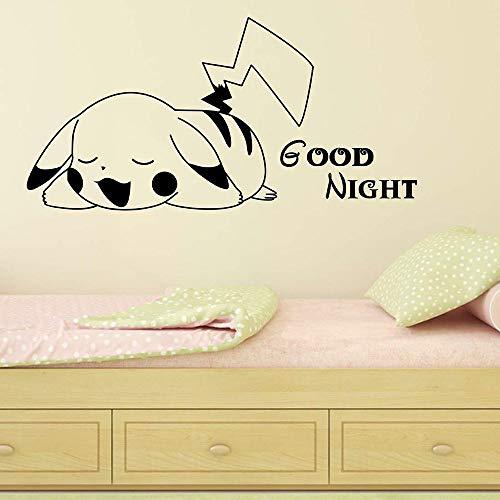Tianpengyuanshuai wandstickers, cartoon, vinyl, zelfklevend, voor kinderen, slaapkamer, decoratie van het huis