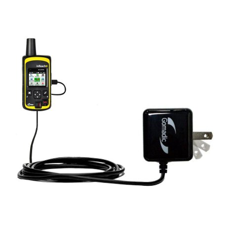 Gomadic High Output Home Wall AC Charger Designed for The Delorme inReach SE with Power Sleep Technology - Intelligently Designed with Gomadic TipExchange
