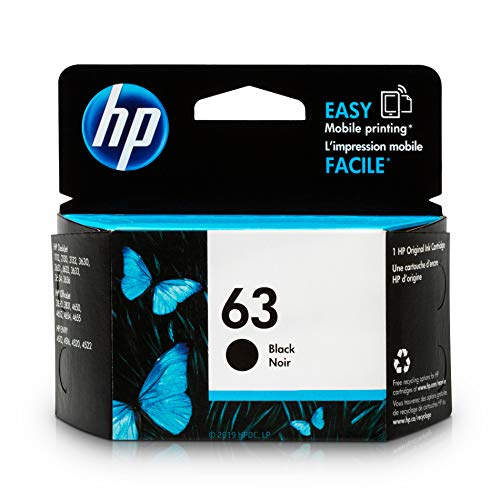 HP 63 | Ink Cartridge | Black | ...