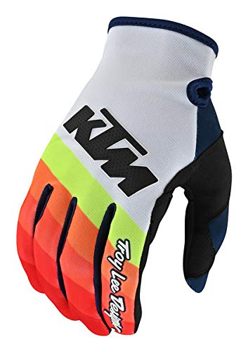 Troy Lee Designs 401762003 Se Pro Glove Ktm Mirage White/Red Md