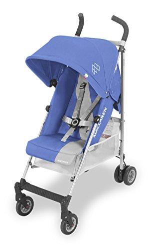 Maclaren Triumph Silla de paseo - ligera, de los 6 meses hasta los 25 kg, Asiento multiposición, suspensión en las 4 ruedas, Capota extensible con UPF 50+