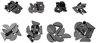 80Pcs Metal Woodruff Key Set Assortment 8 Size Metric