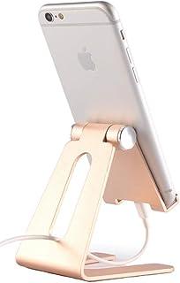 Suporte para celular, suporte ajustável para iPad IOQSOF, suporte de telefone celular, suporte dobrável para tablet, supor...