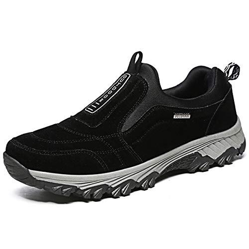 Zapatos Hombre Trekking Mocasines Casual Sapatos Montaña Zapatillas Casa para Centavo Ponerse Conducción Formal Negocios Barco Cómodos Caminar