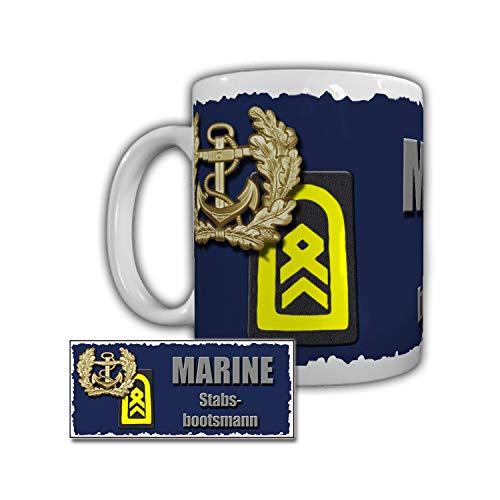 Tasse Marine Stabsbootsmann Tender Donau Rostock Warnemünde B&eswehr #29307