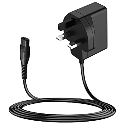 MEROM 4.3V 70MA(0.07A) Shaver Charger for A00390 Power Cord Compatible with Philips Norelco OneBlade QP2520, QP2520 / 30, QP2520 / 70, QP2520 / 90 Hybrid Electric Trimmer and Shaver Power Supply