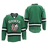 Custom Men's Ice Movie Hockey Jersey Personalized Your Name Number Sweater (Green, L)