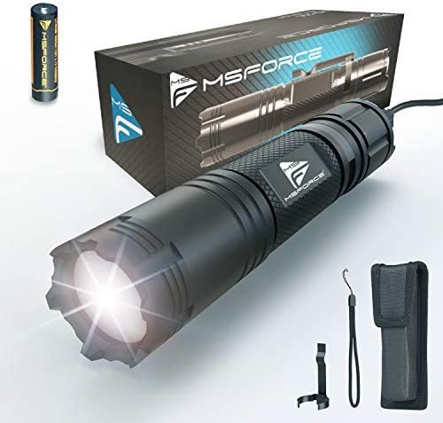 Top 10 Best msforce flashlight Reviews