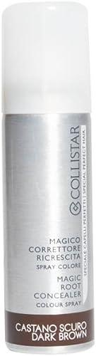 Collistar Magico Spray Correttore Ricrescita Capelli (Colore Castano Scuro) - 75 ml.