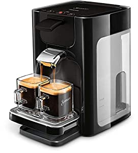 Senseo Quadrante hd7865/60Coffee Machine in Capsules 1.2L 8Cups Black-Coffee (Freestanding, Coffee Machine in Capsules, Coffee Beans, Coffee Pods, Black, Buttons, 50/60Hz)
