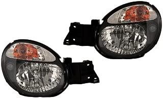 For Subaru Impreza Wrx 02 03 Bug Eyes Jdm Black Head Lights