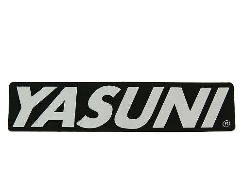 Pegatinas–Silenciador Trasero Yasuni de 170x 38