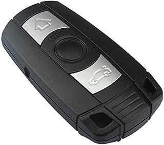 Ersatz Schlüsselgehäuse mit 3 Tasten Klappschlüssel Auto Schlüssel Schlüssel Rohling HU92 (Version B Deckel auf Gehäuserückseite (Comfort Zugang)  INION