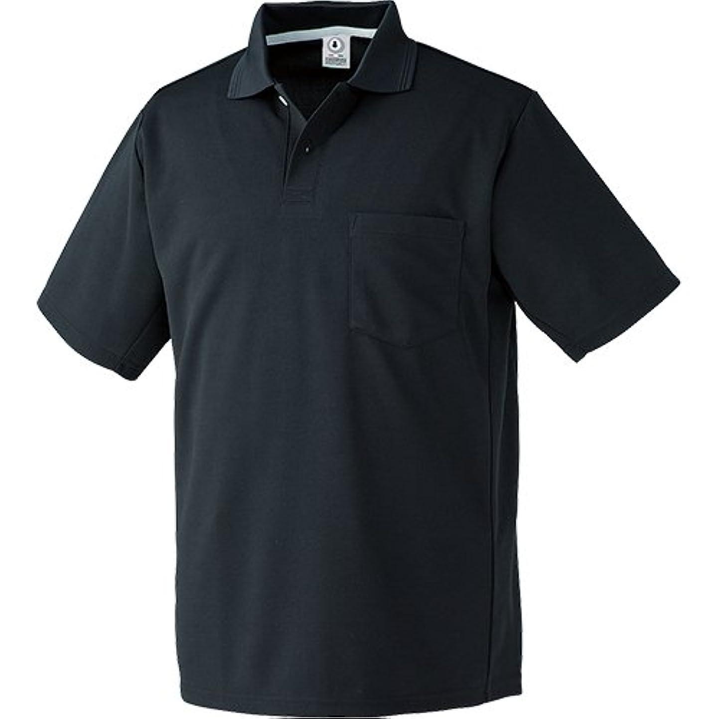 立証する予見する印刷する26446 制電吸汗速乾半袖ポロシャツ