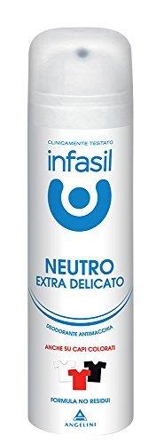 6 x INFASIL Deo Persona Spray Extra Delicato Antimacchia 150 Ml