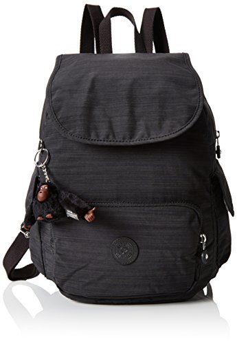 Kipling City Pack - Mochila para mujer, Negro (Dazz Black), S
