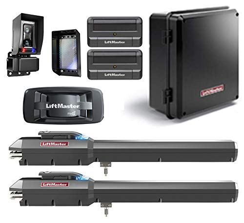 Find Discount LiftMaster LA500PKGU / LA500PKGUL Dual Gate Opener 2019 UL325 Compliant with Two 811LM...