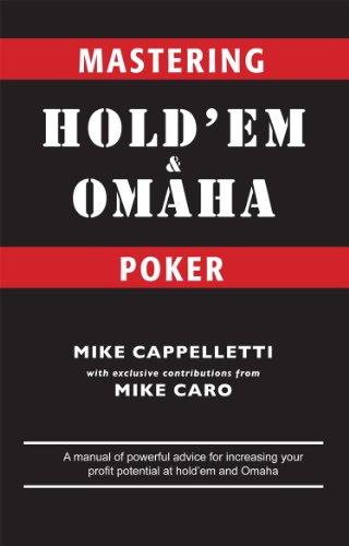 Mastering Hold'em and Omaha Poker (English Edition)