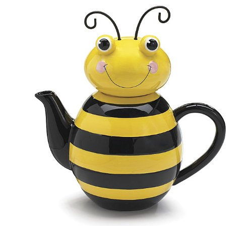 Bumble Bee Cute Animal Teapot