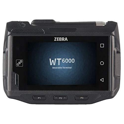 Zebra Wt60a0-ts0lewr Wt6000Wearable terminal, écran tactile capacitif, Android Lollipop 5.1, Anglais, dans le monde entier, WLAN 802.11a/b/g/n AC, 3350mAh batterie standard, 1Go de RAM/4GB Flash
