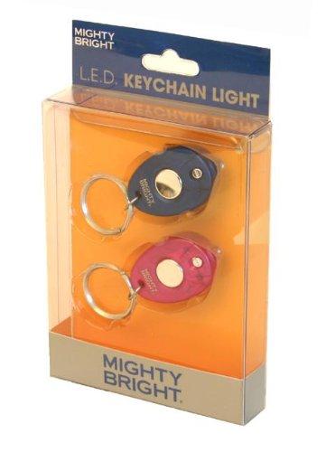 Preisvergleich Produktbild Mighty Bright Blue and Pink LED Keychains