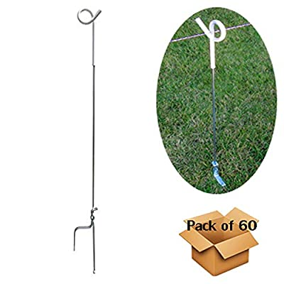MTB 39 Inches Pig Tail Step-in Fence Post - Pack of 10