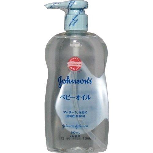 ジョンソン ベビー ベビーオイル 無香料 300ml【4個セット】