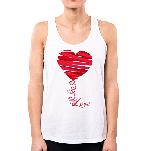 PACDESIGN dames fashion ballon ballon hart love sweeties vintage Nene Ne0154a