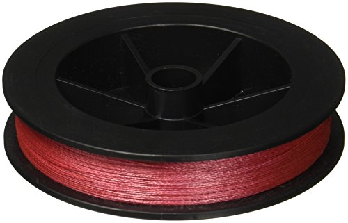 Power Pro Spectra Fiber Braided Fishing Line, Vermilion Red, 300YD/10LB