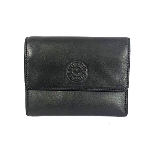 Kipling Small Leather Goods Mathis Wallet (Black)