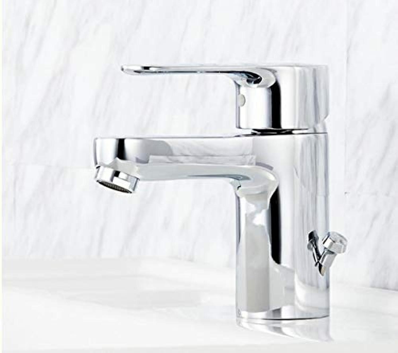 Wasserhahn Einloch-Waschbecken Badezimmerschrank Wasserhahn Warm Und Kalt Kupfer