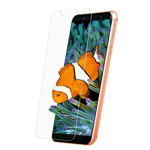 AQUOS Sense3 Basic ガラスフィルム Android OneS7 フィルム SHV48 アンドロイド ワンS7 AGC旭硝子 液晶 保護 Sense3 Basic 強化 ガラス 全面 保護 【全面吸着/高透過率/貼り付け簡単/気泡ゼロ】 【1枚セット】