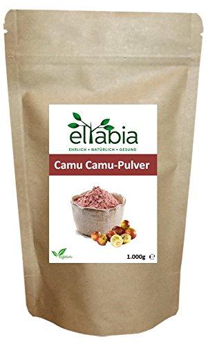 eltabia Camu Camu Pulver 1kg 1000g Maxi Pack natürliches Vitamin C