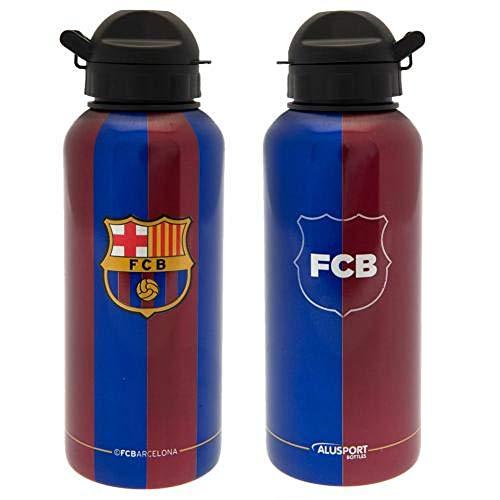 Alusport Bottles FCB Classic Botella Deportiva de Aluminio, Hombre, Azul, S