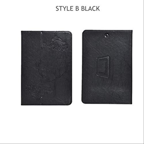 XXIUYHU Flip Case Für Hp Pro Tablet 608 G1 Magnetabdeckung Ständer Halter Pu Ledertasche Für Hp Pro Tablet 608 G1 Z8500 7,9 '' Tablet CaseStyle B Schwarz