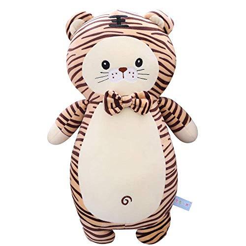 R Netter Tiger Puppe Tiger Plüschtier Zodiac Tiger Kinder Puppenbett Schlafendes Kissen Mädchen-65cm_White Shuanghao.