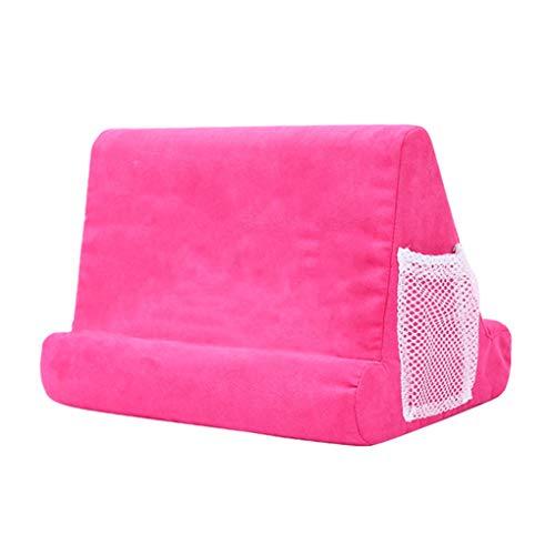 Topker Tablet-Kissen-Pad PC-Halter Rastlesekissen Universal-Handy-Standplatz Halterung, Rosa