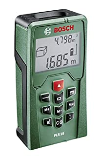 Bosch PLR 25 - Telémetro láser (B0033UWLWY) | Amazon price tracker / tracking, Amazon price history charts, Amazon price watches, Amazon price drop alerts