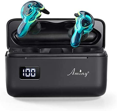 AMINY U Mini True Wireless Earbuds Waterproof IPX7 Bluetooth Earbuds Wireless Headphones Bluetooth product image