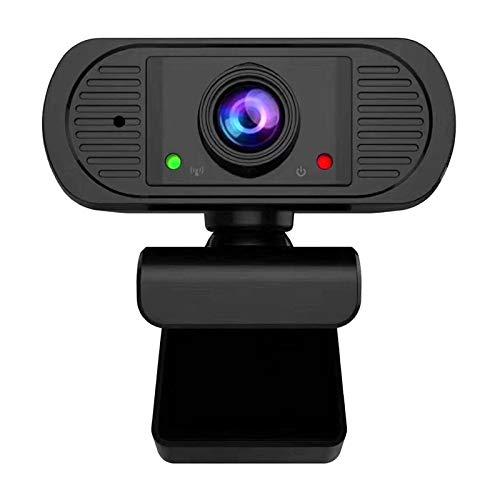 Goodvk Cámara Web de Transmisión HD 1080p HD Webcam USB Co