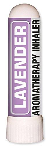 Lavender Aromatherapy Nasal Inhaler Organic Essential Oil 0.7 mL by Sponix