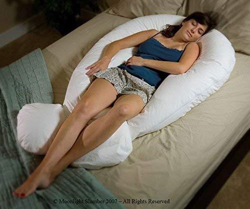 Moonlight Comfort-U Total Body Pregnancy Support Pillow. Full Size. Comfort U Total Body Support.
