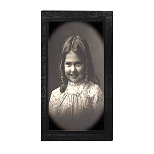 Horror Picture Frame Lenticular 3D Changing Face Scary Portrait Haunted Spooky Home & Garden Home Decor
