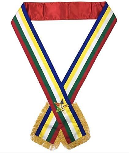 Masonic Order of the Eastern Star OES Sash Five Color sash