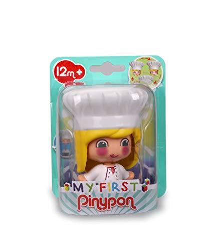 Pinypon - My First, Figura Chef, Muñeco cocinero de juguete para jugar...