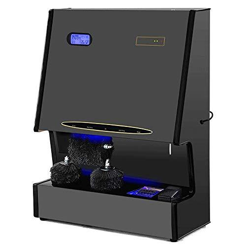 ZXCVB Vollautomatische intelligente Schuhputzer, Manuelle und automatische Doppel Startverf, mit versteckter Schiebetür, Intelligent Öl Design, Low Noise
