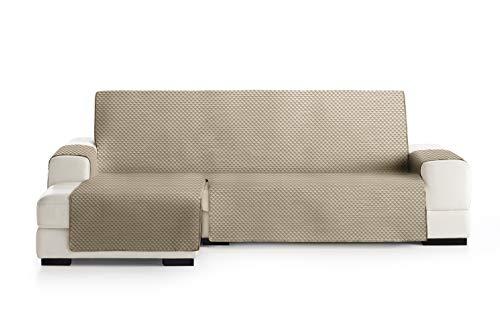 Eysa Oslo Funda, Poliéster, C/11 Vison-Crudo, Chaise Longue 240cm. Válido para sofá Desde 250 a 300cm