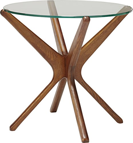 ACME Furniture TRESTLES SIDE TABLE 50cm CLEAR