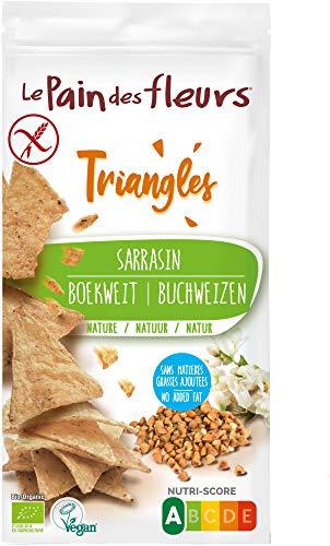 Triángulos de Trigo Sarraceno Le Pain des Fleurs 50g