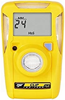 BW Technologies BWC2-H BW Clip Single Gas H2S Monitor, 10/15